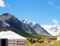 モンゴルの田舎